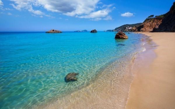 Playa de s'Aigua Blanca