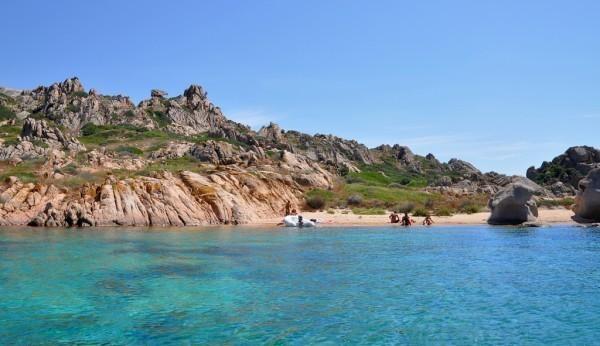 Cala occidentale - Isola di Mortorio