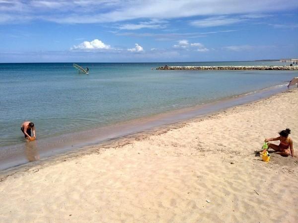 Torre specchia san foca spiaggia in puglia mappa beachoo - Torre specchia spiaggia ...