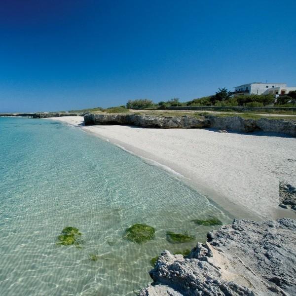 Torre dell 39 orso spiaggia in puglia mappa beachoo - Torre specchia spiaggia ...